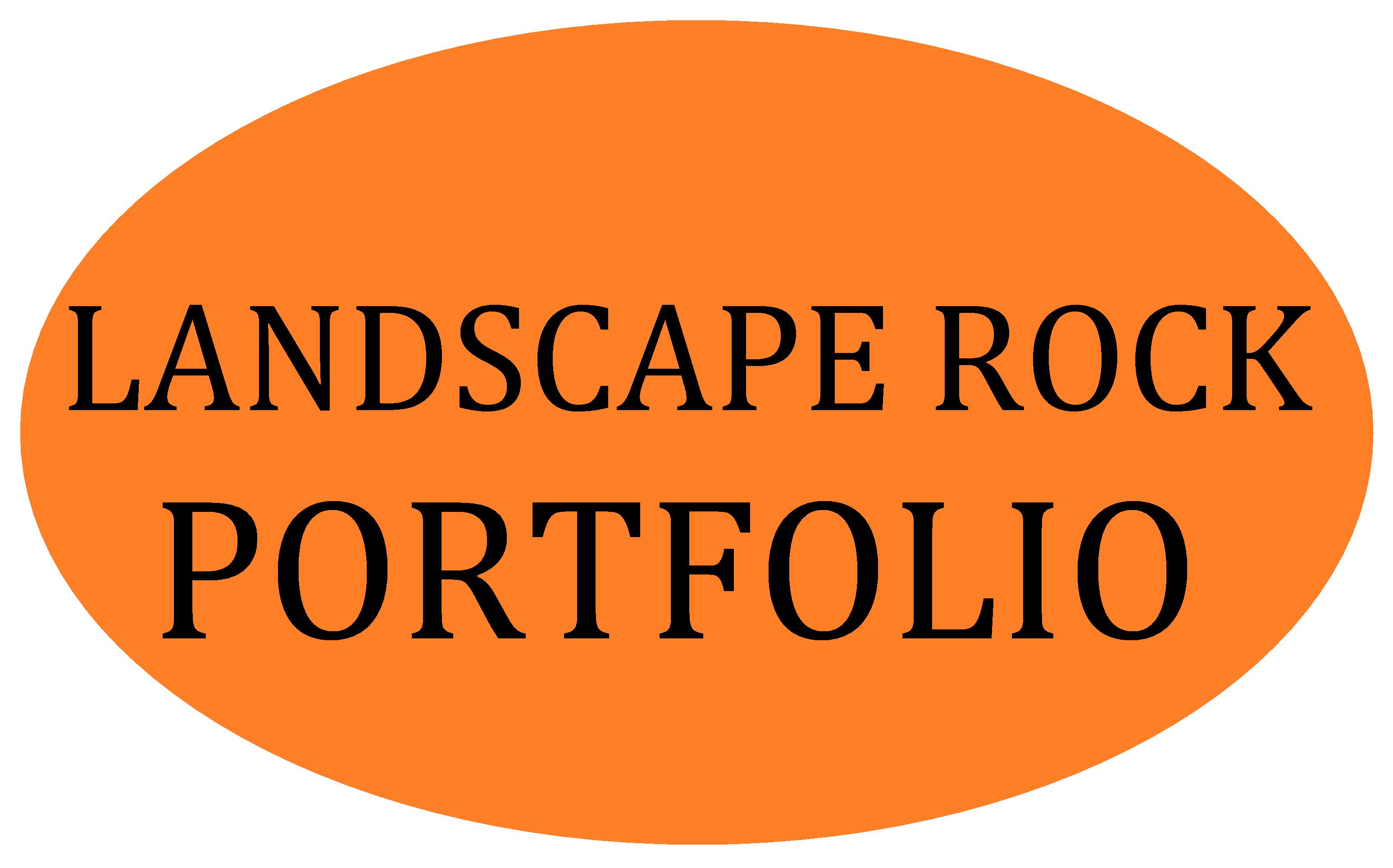 Portfolio Landscape Rock